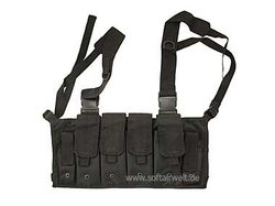 Chest Rig, schwarz