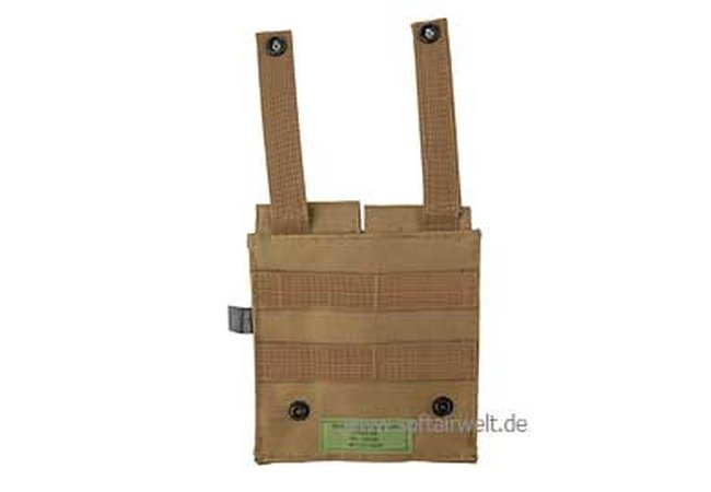 Magazintasche doppelt Molle coyote