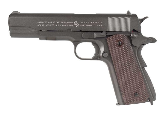 Colt 1911 Vollmetall CO2 Blow Back