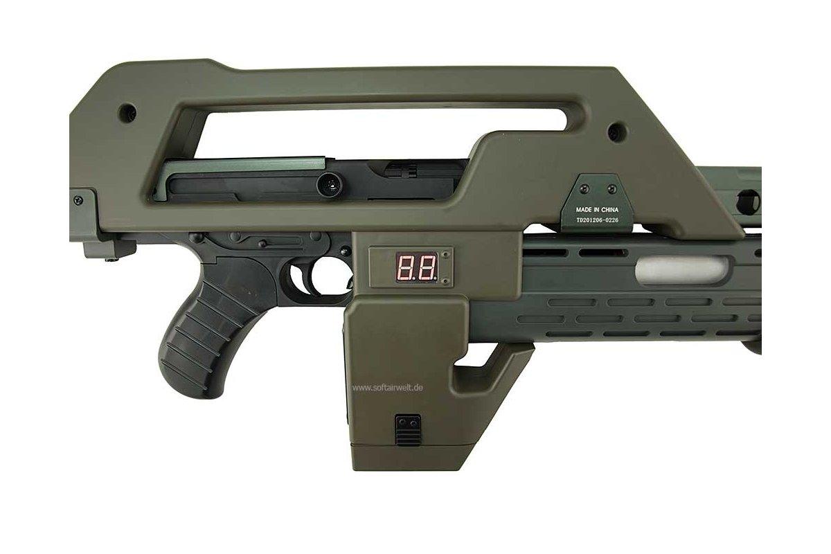 pulse rifle softair gewehr ab 14 jahren 449 00. Black Bedroom Furniture Sets. Home Design Ideas