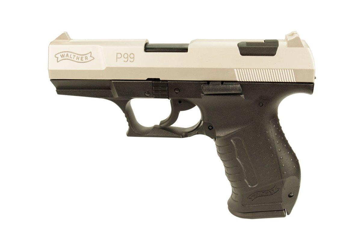 schreckschuss walther p99 bicolor gas signal pistole ab. Black Bedroom Furniture Sets. Home Design Ideas