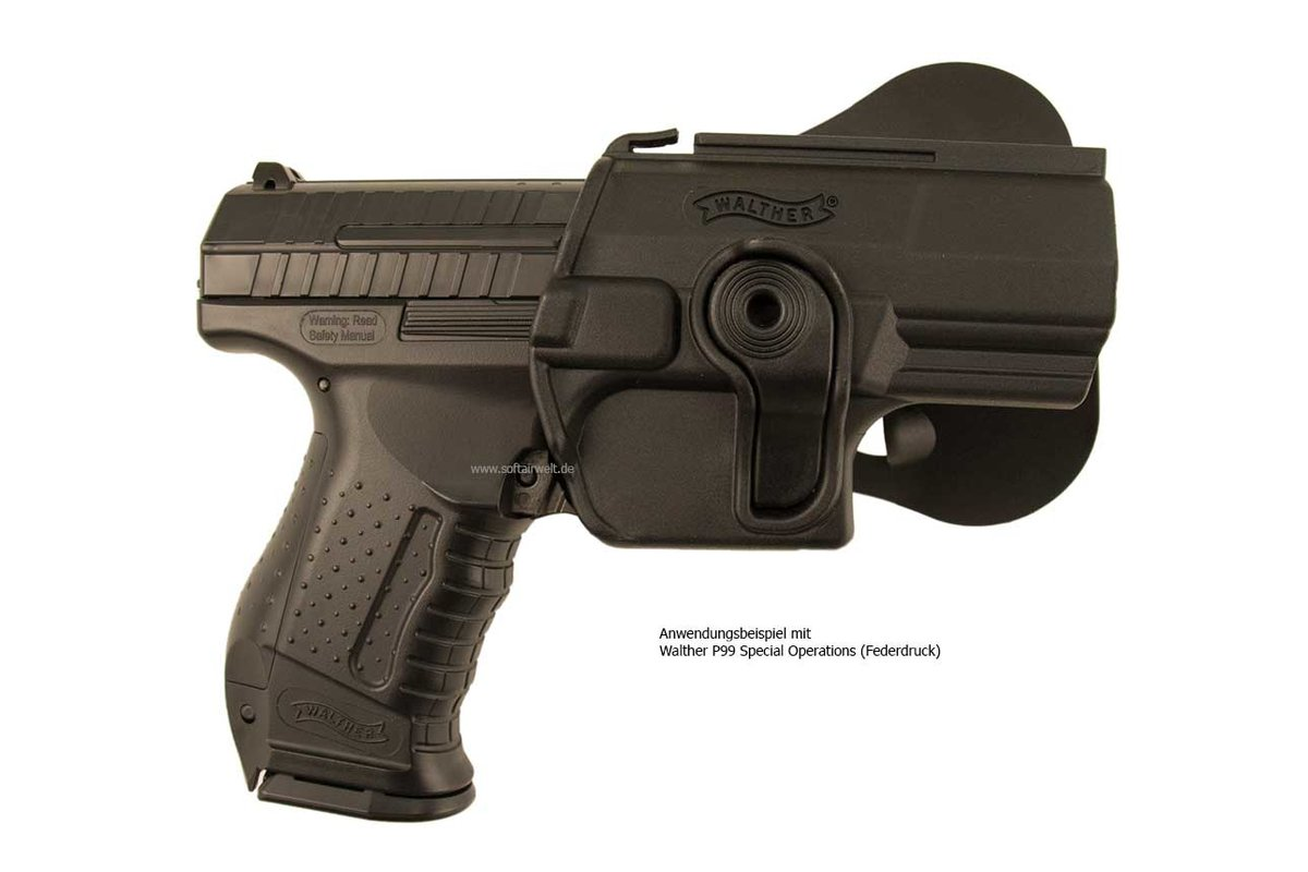Includes walther p99 fobus p99 holster 2 10rd magazines 2 additional