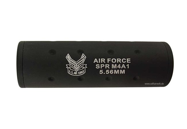 Silencer U.S. Air Force 5.56MM 10,9cm CW/CCW