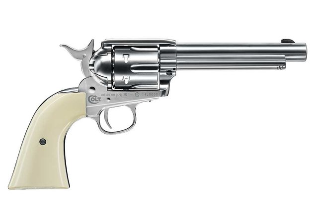 Colt Single Action Army® 45, Co2, 4,5 mm, nickel
