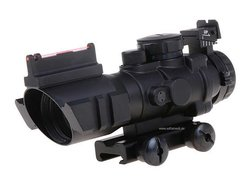 Rhino 4x32 Fiber Optic Compact Scope
