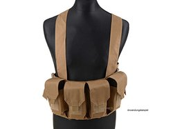 Chest Rig 8x STANAG, tan