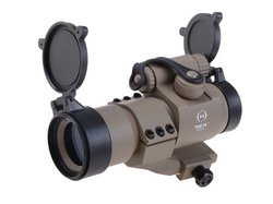 Metall Point Sight 36 V2 rot-grün, tan