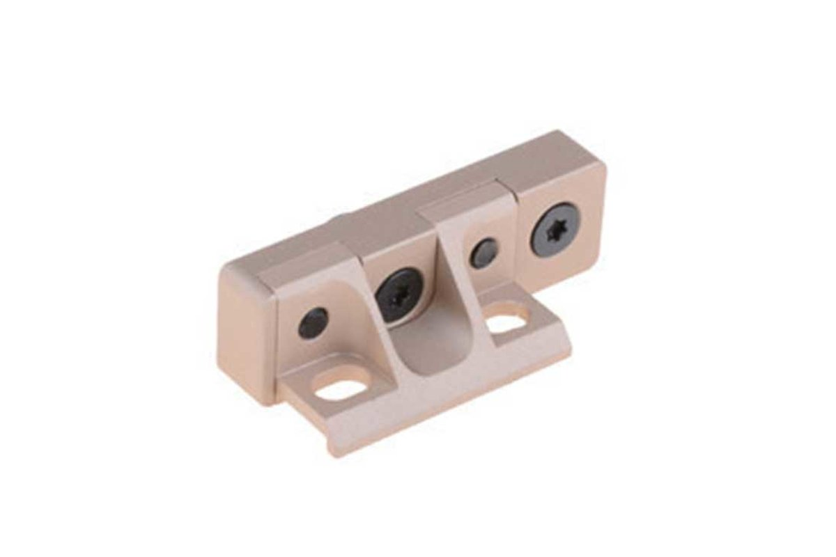 Low Profile Mount for KeyMod Handschutz, Tan