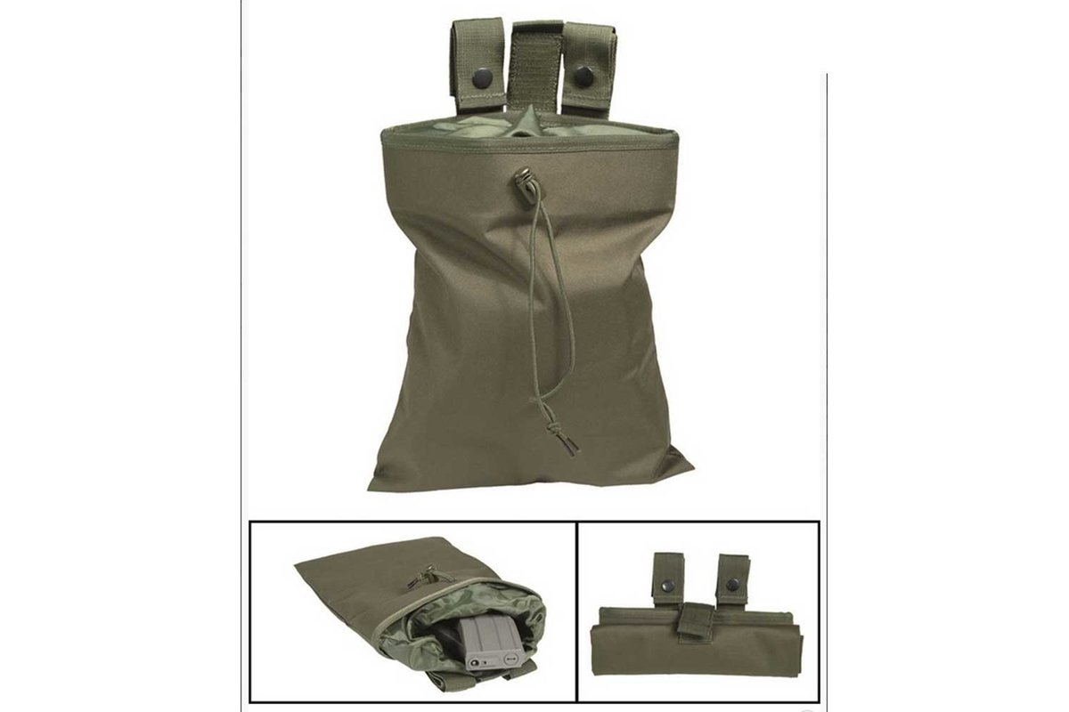 Molle Empty Shell Pouch Oliv