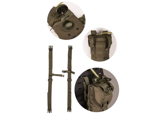 Hydration Pack Molle Laser Cut 2,5L, oliv
