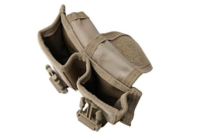molle pouch f r zwei granaten tan 11 90. Black Bedroom Furniture Sets. Home Design Ideas