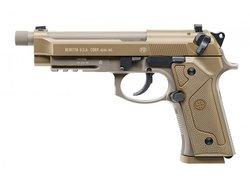Beretta M9A3 Blowback Co2 Softair Pistole 6 mm, FDE