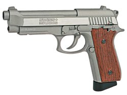 Swiss Arms SA92 Stainless Version BlowBack Co2 Pistole...
