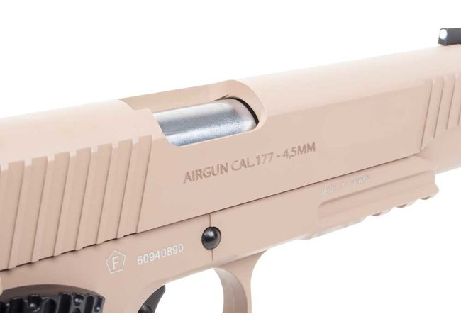 Swiss Arms P1911 BlowBack Co2 Pistole 4,5mm Stahl BBs
