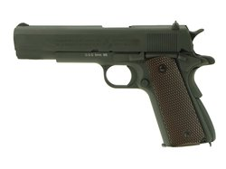Colt 1911 parkerized Vollmetall CO2 Softair Blow Back