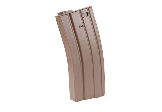 M4 Low Cap MilSim Specna Arms Magazin, 30 BBs, tan