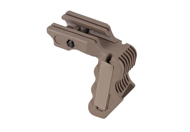 FMA Magwell Vertical Front Grip, tan