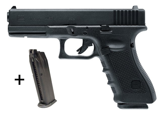 Glock 17 Gen4 GBB VFC 6mm - Bundle