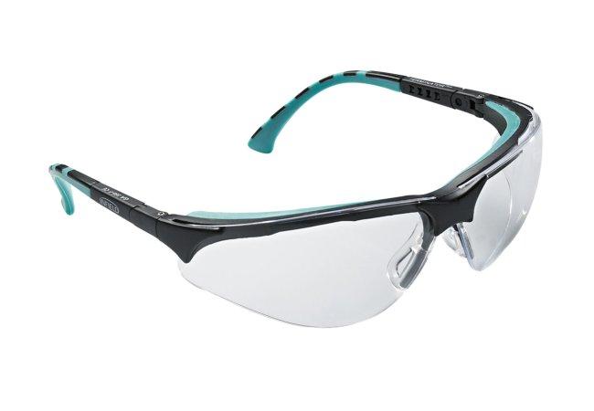 sehr leichte kratzfeste schutzbrille nach euro norm en. Black Bedroom Furniture Sets. Home Design Ideas
