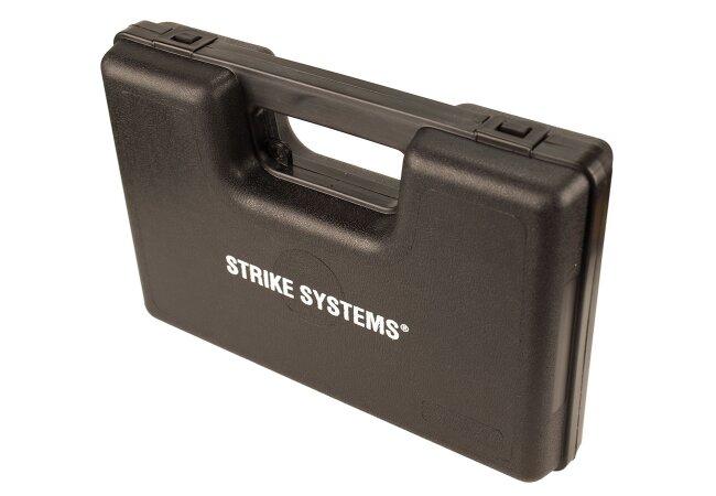 kleiner pistolen koffer kunststoff abschlie bar schwarz 9 90. Black Bedroom Furniture Sets. Home Design Ideas