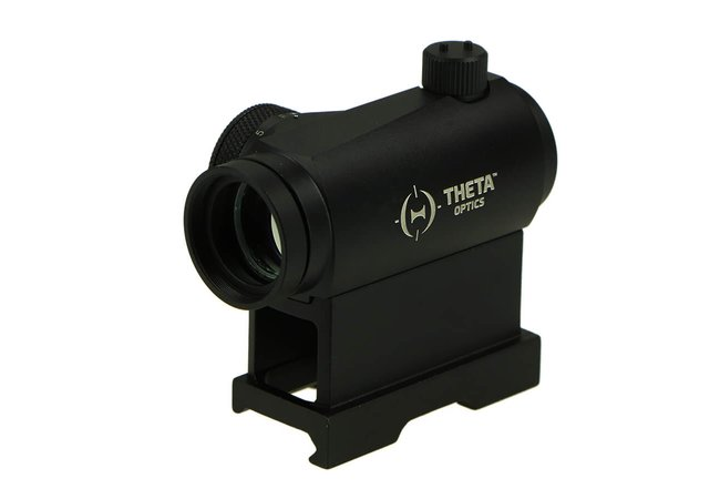 Theta T1 Red Dot, low und High QD Mount, schwarz