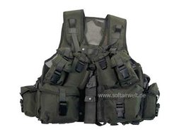 Kanadische Tactical Weste, oliv