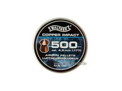 Walther Impact Kupfer Spitzkopf Diabolos 500st, 4,5mm