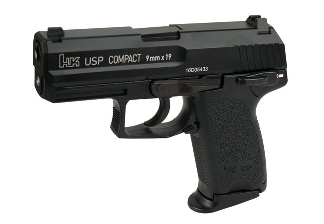 H&K USP Compact Blow Back Gas